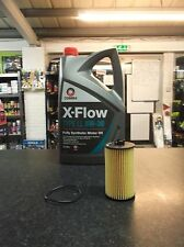 VAUXHALL VECTRA C / MK2 1.8 SERVICE KIT OIL AND FILTER COMMA 5LITRES XFLOW