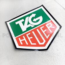"""Tag Heuer Racing Sticker Bonnet Hood Porsche 964 Carrera Cup 550 mm 21.7"""""""