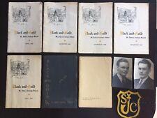 St John's College Winnipeg Manitoba 1930's Year Book Patch Lot Canada 1935-1938