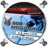 Umarex Mosquito Diabolo Munición Escopeta de Aire Comprimido 4.5mm Cabeza Plana