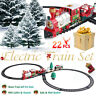 Christmas Electric ClassicTrain Set Railway Lights & Sounds Xmas Train Gift Kids