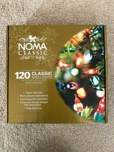 Noma Classic, 120 Multi Colour Mini Lights, Christmas Lights, Fairy Lights