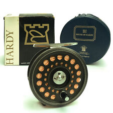 "A FINE HARDY THE PRINCE 7/8 (3 1/4"") FLY FISHING REEL COMPLETE WITH BOX AND CASE"