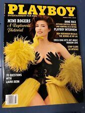 Playboy Magazine March 1993 Mimi Rogers