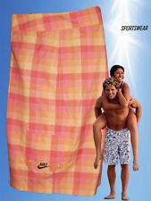 "NEW NIKE Sportswear NSW Active Beach Water Sports Board Shorts Pink & Yellow 32"""