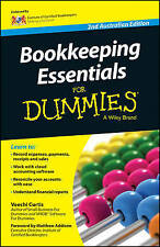 NEW Bookkeeping Essentials For Dummies - Australia by Veechi Curtis