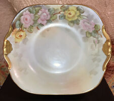 Antique Limoges Bowl - Beautiful Hand Painted Signed