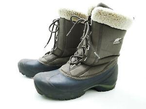 Sorel Herren Stiefel Stiefelette Boots Grün Gr. 42 2/3 (UK 8,5)