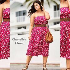 NEW! Lane Bryant STRAPLESS CONVERTIBLE Dress Woman's Plus Size 14/16 14 16