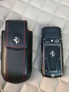 Vertu Ascent Ti Ferrari Nero Limited Edition 2009 Genuine Mobile Phone Unlocked