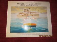 Maine Poster by Willard Goodman - Maquoit Island Ferry - Casco Bay Islands