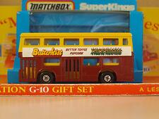 Vintage Matchbox Lesney SUPER KINGS K-15 The Londoner Butterkist Bus