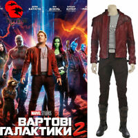 DFYM Guardians of The Galaxy 2 Star Lord Peter Quill Cosplay Costume Halloween