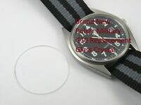 Men's Pulsar G10 Replacement Glass Crystal Military Watch- Perfect Fit Japan W10