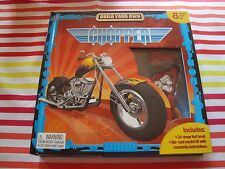 Build Your Own Chopper By Phidal~Die-Cast Model Kit~Includes 24 page Book NEW