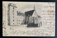 AK Litho Gruss aus WR. NEUSTADT Theresian. Militär Akademie gestempelt 1898