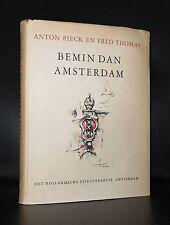 Anton Pieck # BEMIN DAN AMSTERDAM # 1948, 1st. printing, nm