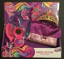 My Little Pony DRESS-UP Purse Tiara TALKING WAND Lights-up COMB ++  2014 Hasbro