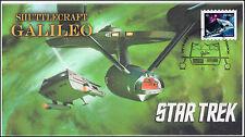 Ca17-008, 2017, Star Trek, Fdc,Galileo, Shuttlecraft
