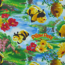 1 yard Pillow Pets Bees Fabric