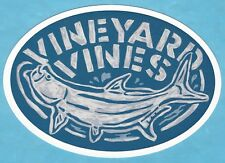 NEW AUTHENTIC VINEYARD VINES OVAL FISH FISHING WHALE STICKER DECAL