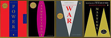 ROBERT GREENE LARGE TRADE Paperback Set of 4 POWER - SEDUCTION - WAR - MASTERY