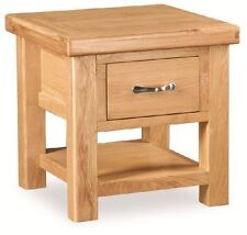 Oak Square Coffee Tables with Drawers