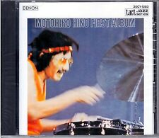 "MOTOHIKO HINO  "" First album ""  CD DENON  MADE IN JAPAN 1987"