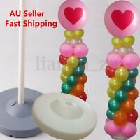 1X 2X 4X 1.2M Balloon Column Base Stand Display Kit Wedding Party Decoration AU