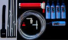 Motorized Drift Trike 49 - 250 cc Intake NOS Nitrous Oxide & Boost Bottle Kit