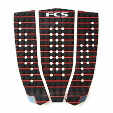 FCS Hipwood Athlete Series Traction Pad Black-Fire Engine Red