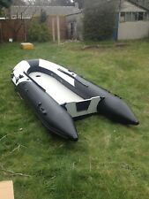3.3m Inflatable Tender Dinghy Boat Brand New Boxed Aluminium Floor no Outboard