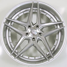 ROSSO REACTIV 20 x 8.5 SILVER RIMS WHEELS FOR NISSAN MAXIMA SV 5x114.3 +38