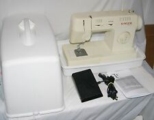Singer Merritt 3314 Sewing Machine Hard Case & Pedal Zig Zag Clean / Working VG