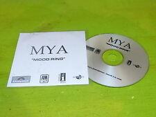 MYA - MOOD RINGS !!!!!!!!!!!!!!!!!!!!RARE CD PROMO !!