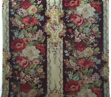 Beautiful 19th C. French Napolean III Wool Challis Fabric  (2246)