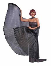 Black Goddess Wings Cleopatra Costume Egyptian Adult Womens Theatrical Wing BIG