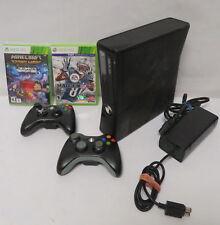 Microsoft Xbox 360 S Model 1439 (320 GB) Console Minecraft Story Mode & Madden