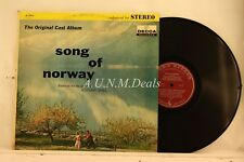 "Song of Norway Based on The Life and Music of Edvard Grieg, Record 12"" VG"