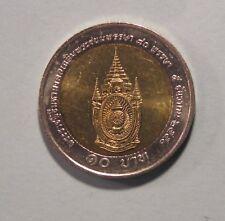 THAILAND 10 BAHT COIN 150th PRINCE PANURANGSRI 2009 BI-METALLIC UNC