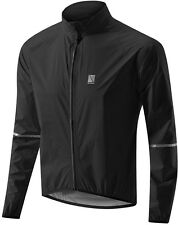 Extra Large Black Altura Pocket Rocket Waterproof Cycling Jacket XL