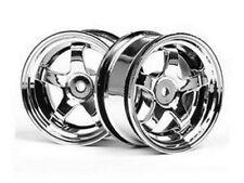 HPI Work Meister S1 1/10 Scale Touring Car Wheels 26mm Chrome 3mm Offset HPI3591