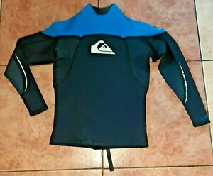 Quiksilver Wetsuit Syncro 1.5mm 100% Hyperstretch Shirt Top Youth Large