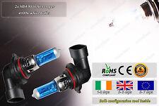 2x HB4 9006 55W White Xenon Gas Halogen HID Look Fog Bulbs Main Headlamps Dipped