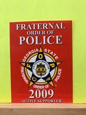 FOP FRATERNAL ORDER OF POLICE ALABAMA PIN