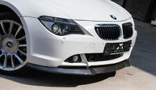 Front SE Bumper lip spoiler For SE BMW E63 E64 splitter valance carbon fiber