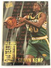 Card Shawn Kemp '95-96 FLEER ULTRA ALL-NBA 2ND TEAM #7 of 15