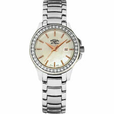 Rotary Polished 100 m (10 ATM) Wristwatches