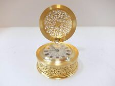 VINTAGE JAEGER LECOULTRE FILIGREE 8 DAY CLOCK (Watch video)