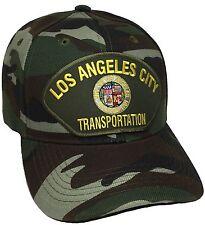City Of Los Angeles Transportation Hat Color Camo Adjustable